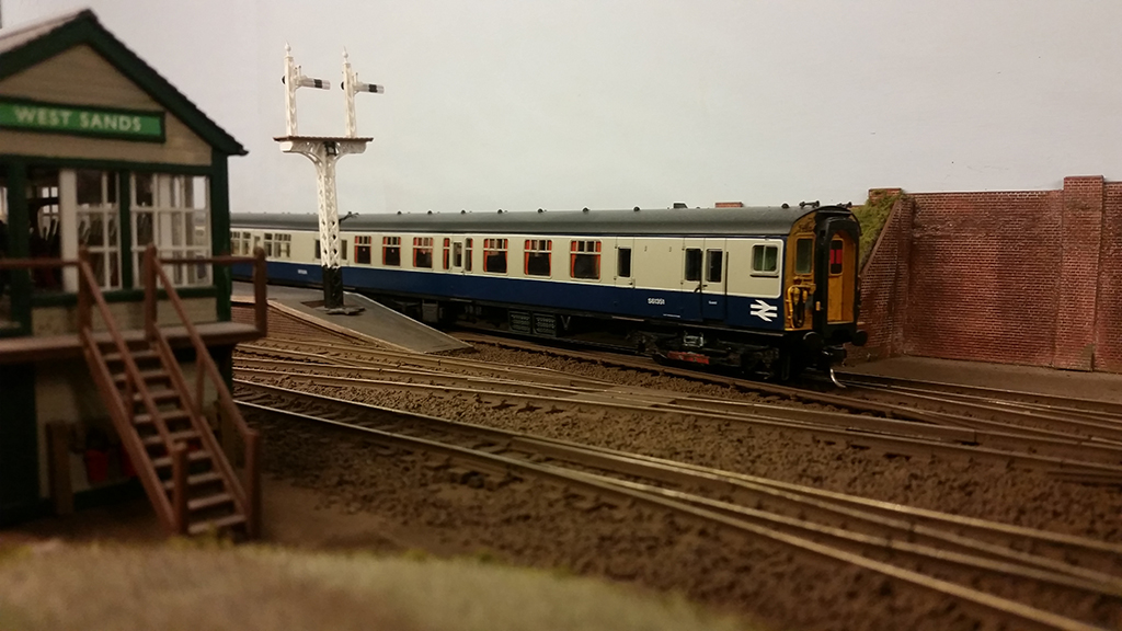 4 Cep 7756 arrives at West Sands with a boat train from London Victoria